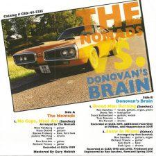 The Nomads & Donovan's Brain - No Cops Haul Ass